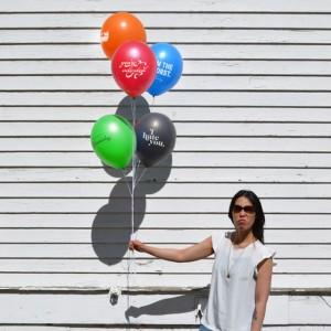 diseña globos para el odio